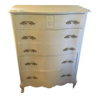 Antique Shabby Chic Oak Dresser