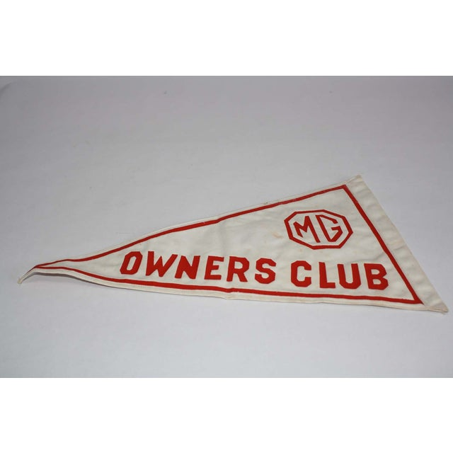 MG Owners Club Pennant Flag - Image 3 of 6