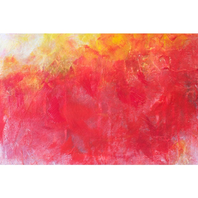 Image of 'Solar Flare IV' Abstract Painting