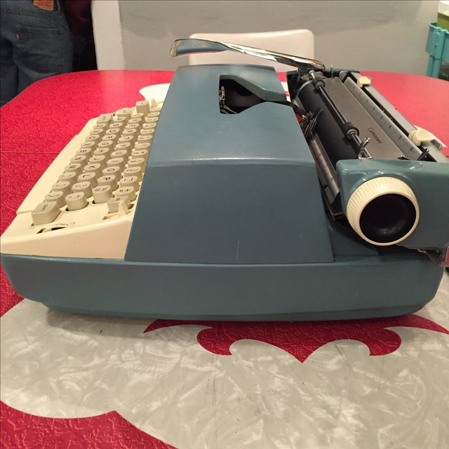 Smith Corona Typewriter 1960s Electric Coronet - Image 3 of 11