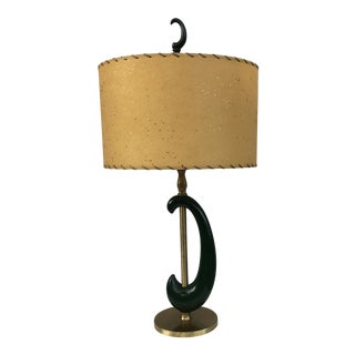 1950's Rembrandt Table Lamp With Shade