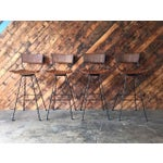 Image of Refinished Arthur Umanoff Barstools- Set of 4