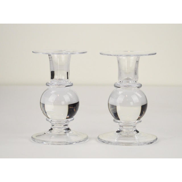 Simon Pearce Candlesticks - A Pair - Image 2 of 7