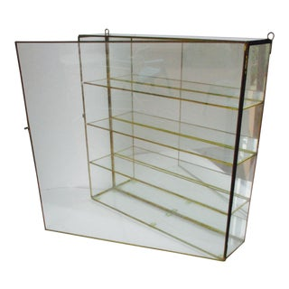 Glass & Brass Display Box