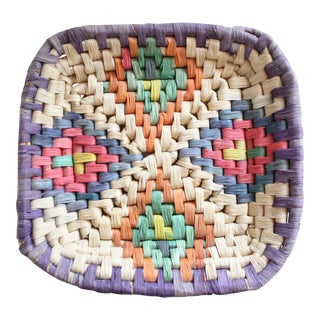 Native American Square Basket