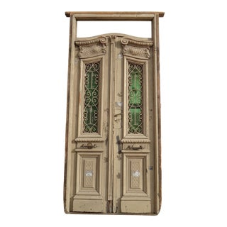 Antique Ornate South American Doors - A Pair