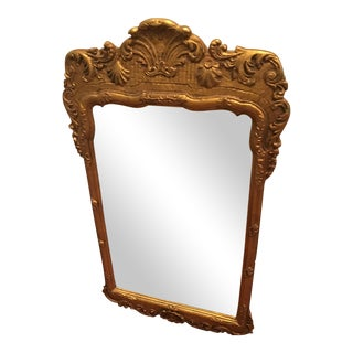 14K Gilded Gold Leaf Antique Mirror