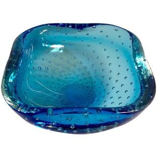 Blue Carlo Scarpa Venini Bullicante Bowl