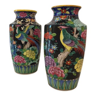 Japanese Vases - A Pair