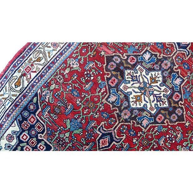 """Persian Bijar Rug - 4'10"""" X 3'5"""" - Image 3 of 6"""