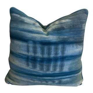 CR Laine Artisan Denim Accent Pillow