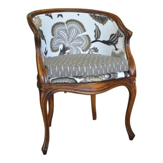 Vintage Chairs With Custom Upholstery