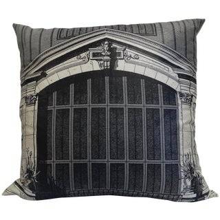 Architectural Print Pillow
