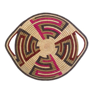 Woven Sisal African Tray