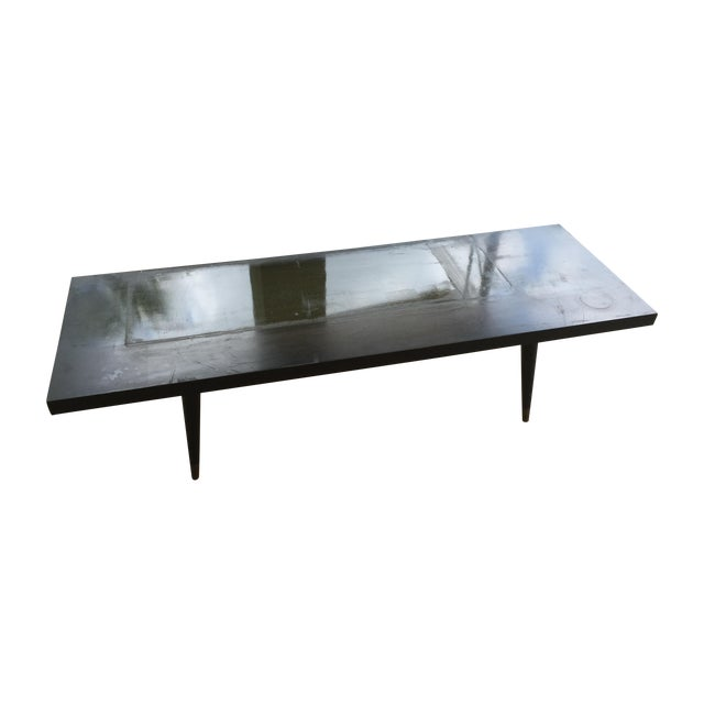 Mid-Century Modern Low Coffee Table