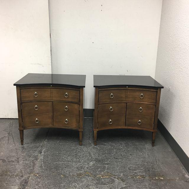 Hickory Chair Lancaster Side Tables - A Pair - Image 2 of 10