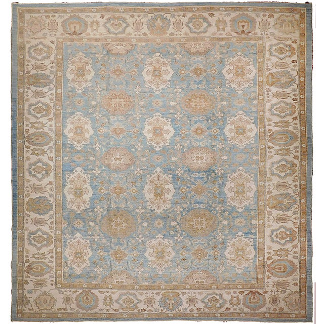 Agra Design Hand-Knotted Luxury Rug - 7′9″ × 9′4″