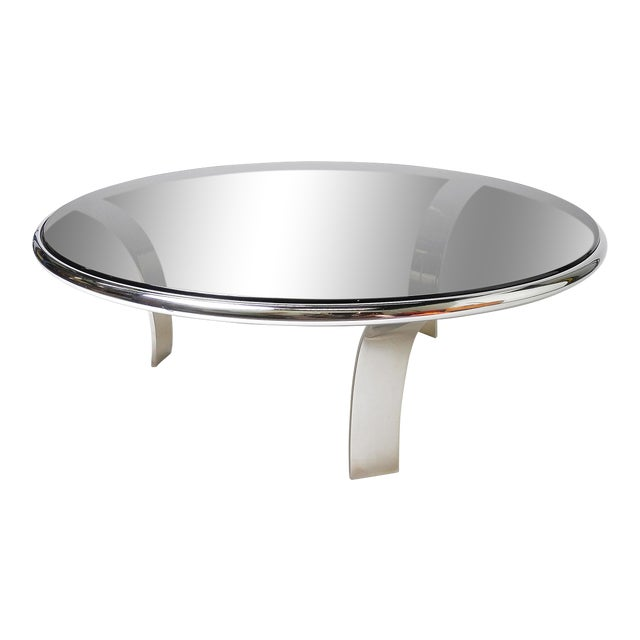 Image of Gardner Leaver Smoked Glass Coffee Table