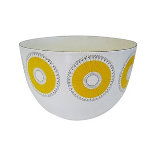 Kaj Franck Finel Atomic Yellow Starburst Bowl