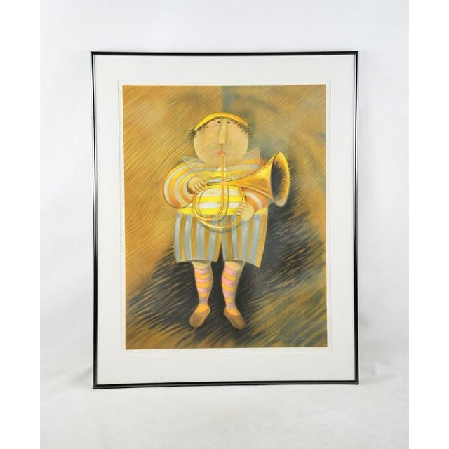 "Signed & Numbered Lithograph ""French Horn Player"" by Graciela Rodo Boulanger - Image 2 of 9"