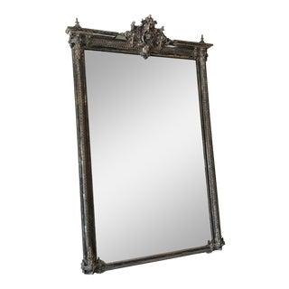 Vintage Italian Silvered Ornate Mirror
