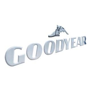 Goodyear Tires Porcelain Enamel Automotive Sign