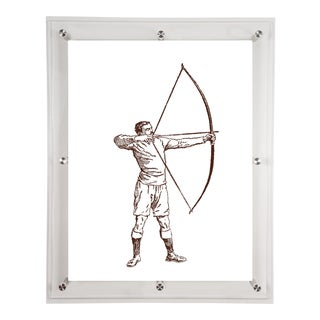 """Archer"" Acrylic Framed Wall Art"