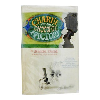 """1964 """"Charlie and the Chocolate Factory"""" Early Printing"""
