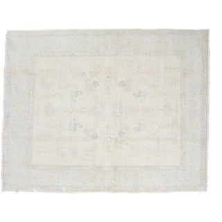 "Distressed Oushak Square Carpet - 5'9"" x 7'2"""