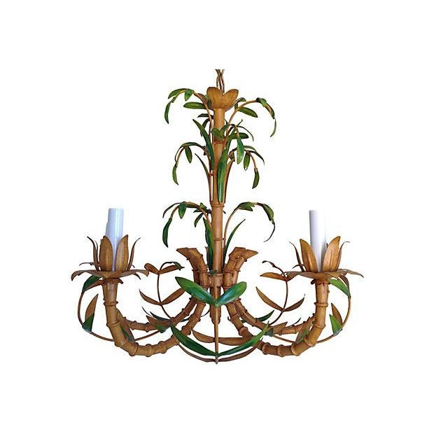 Image of Mid-Century Palm Chandelier