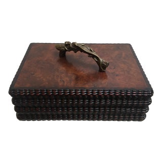 Burled Wood Box