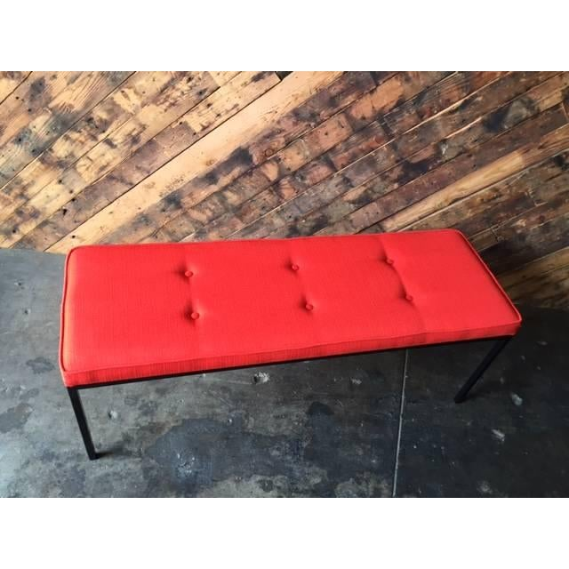 Custom Powder Coated Steel Bench - Image 7 of 7