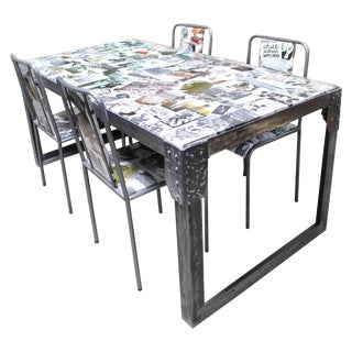 Photo Collage Dining Set