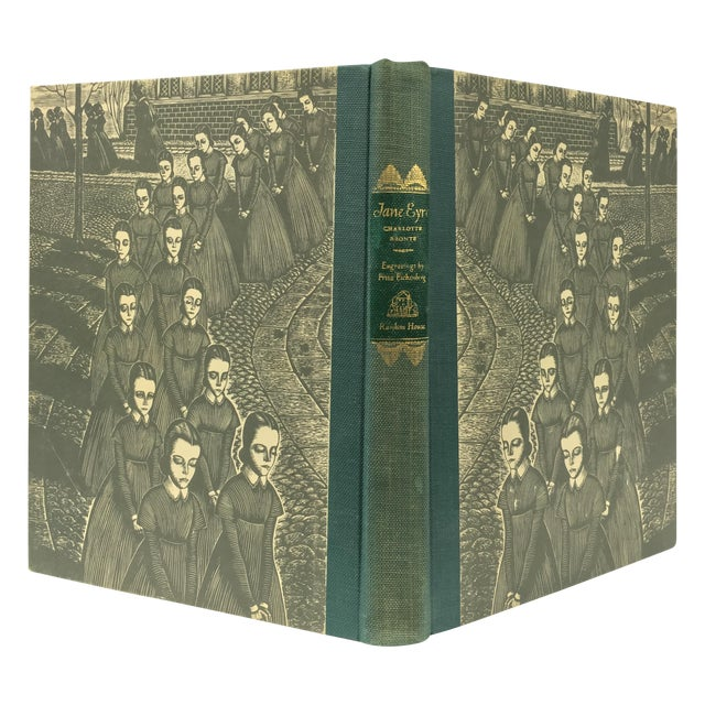 1943 Book With Art, Charlotte Bronte's Jane Eyre - Image 1 of 7