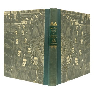 1943 Book With Art, Charlotte Bronte's Jane Eyre