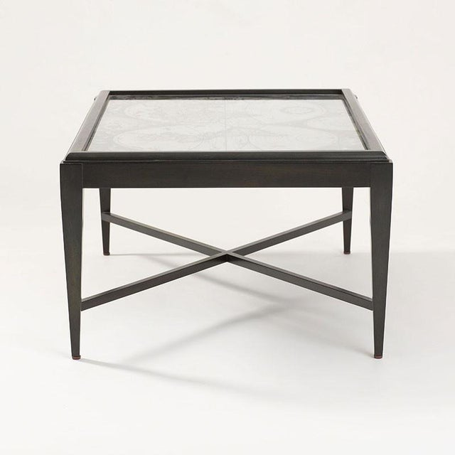 Inset World Map Explorer Coffee Table - Image 4 of 6