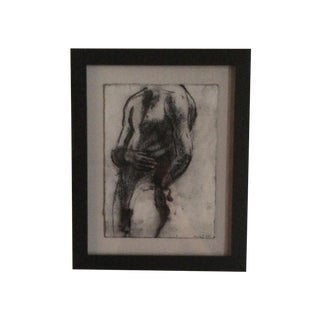 Matt Alston Charcoal Drawing - Nude 9