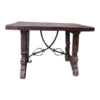 Early Monterey Spanish Revival Side Table