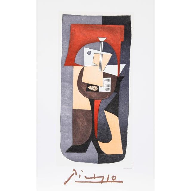 Image of Pablo Picasso Lithograph - Guitare Et Partition
