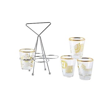 Jonathan Adler Shot Glasses - Set of 5