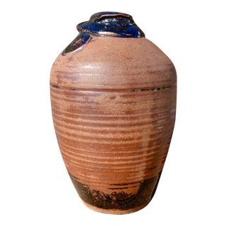 Vintage Hand Thrown Terra Cotta Pottery Vase