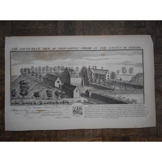 Antique Folio Size Architectural Engraving - Image 2 of 4