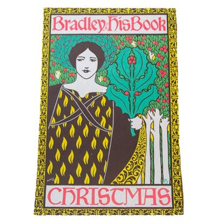 Willian Henry Bradley Vintage Lithograph Poster