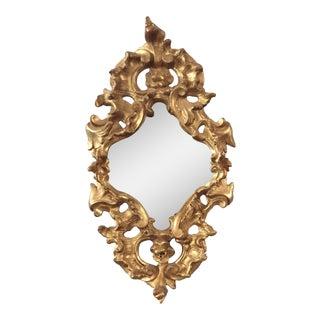 French 19th Century Neo-Gothic Mirror