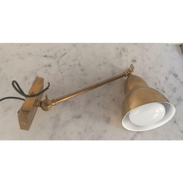 Antique Brass Visual Comfort Wall Sconce - Image 6 of 8