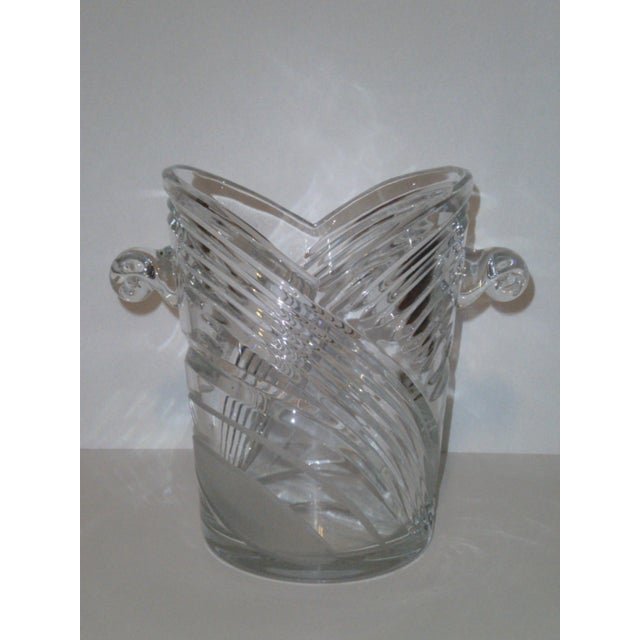 Vintage Crystal Champagne Ice Bucket - Image 2 of 7