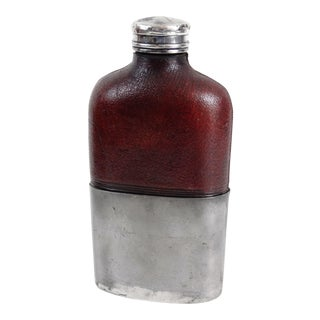 English Leather Whiskey Flask