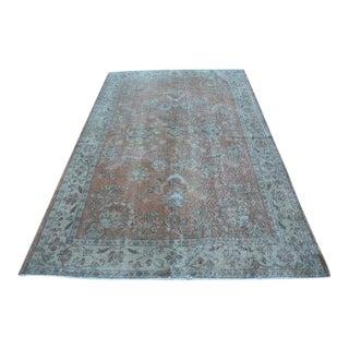 Turkish Handmade Anatolian Oushak Carpet - 5′3″ × 8′