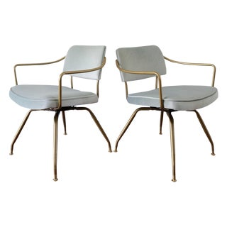 Baumritter Mid-Century Lounge Chairs - Pair