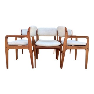Mid-Century Benny Linden Dining Chairs - 6